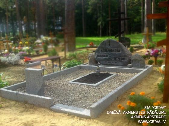 Laukakmens kapu pieminekļa noformējums