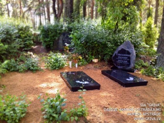Laukakmens kapu piemineklis nedaudz pulēts