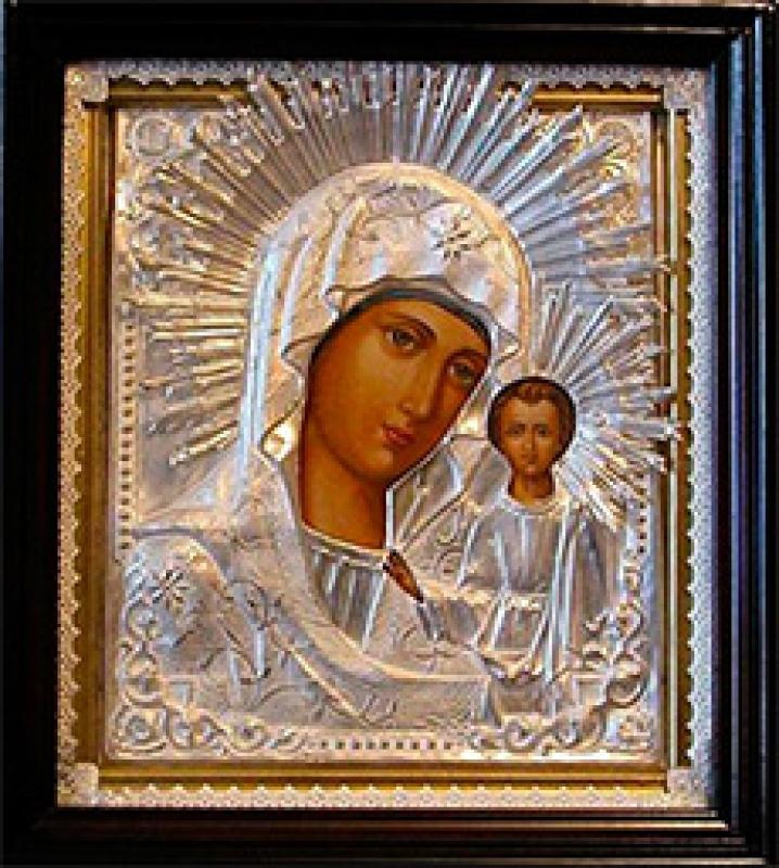 Svētās Dievmātes ikona