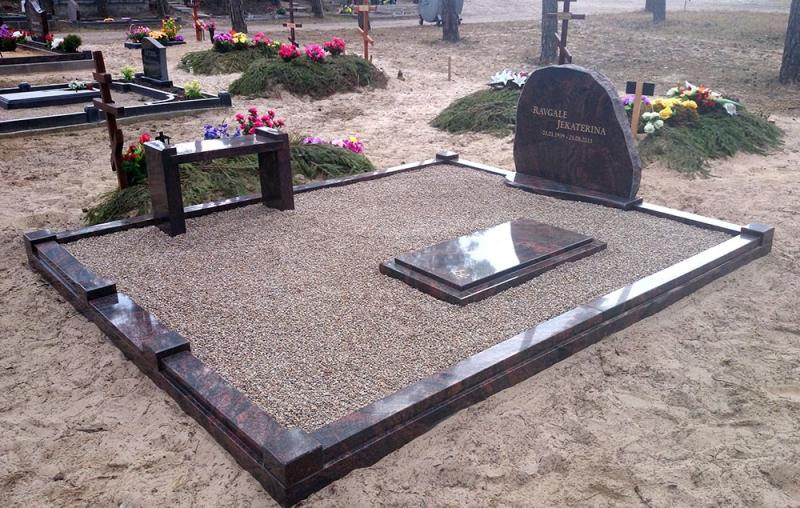 Оформление мемориала из Шведского гранита
