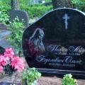 Granīta kapu noformējums